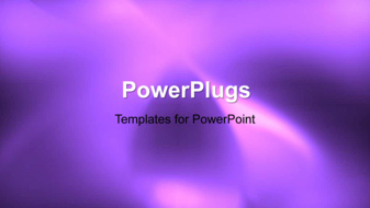 PowerPoint Template - An abstract curves background
